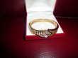 Bracelet plaqué or massif et zirconias - France - Bracelet plaqué or massif et zirconias... - France