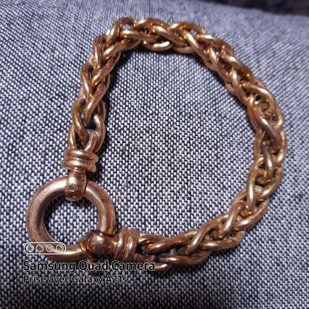 Bracelet plaqué or  0 Ajac (11)