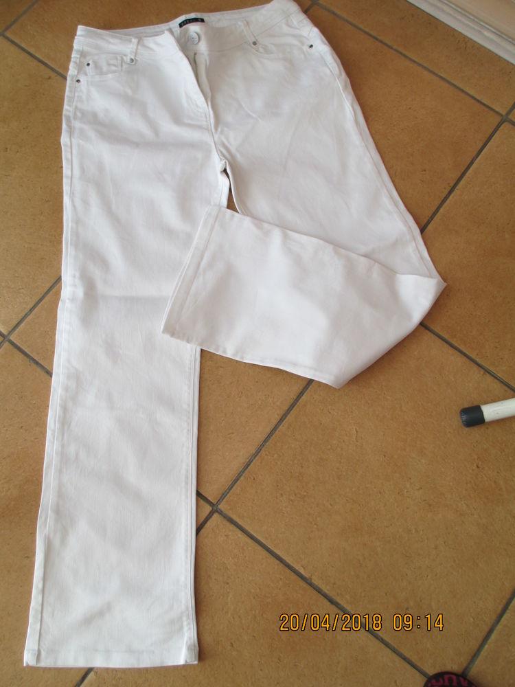 BREAL Pantalon blanc taille 44 blanc 25 Limeil-Brévannes (94)