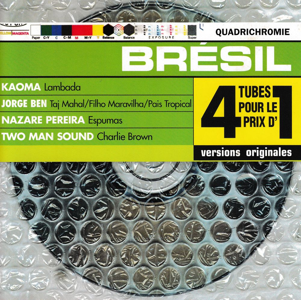 CD    Brésil    Quadrichromie  Compilation 7 Bagnolet (93)