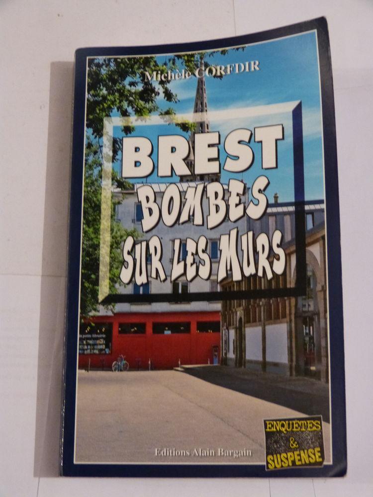 BREST  BOMBES SUR LES MURS  policier  BRETON BARGAIN 5 Brest (29)