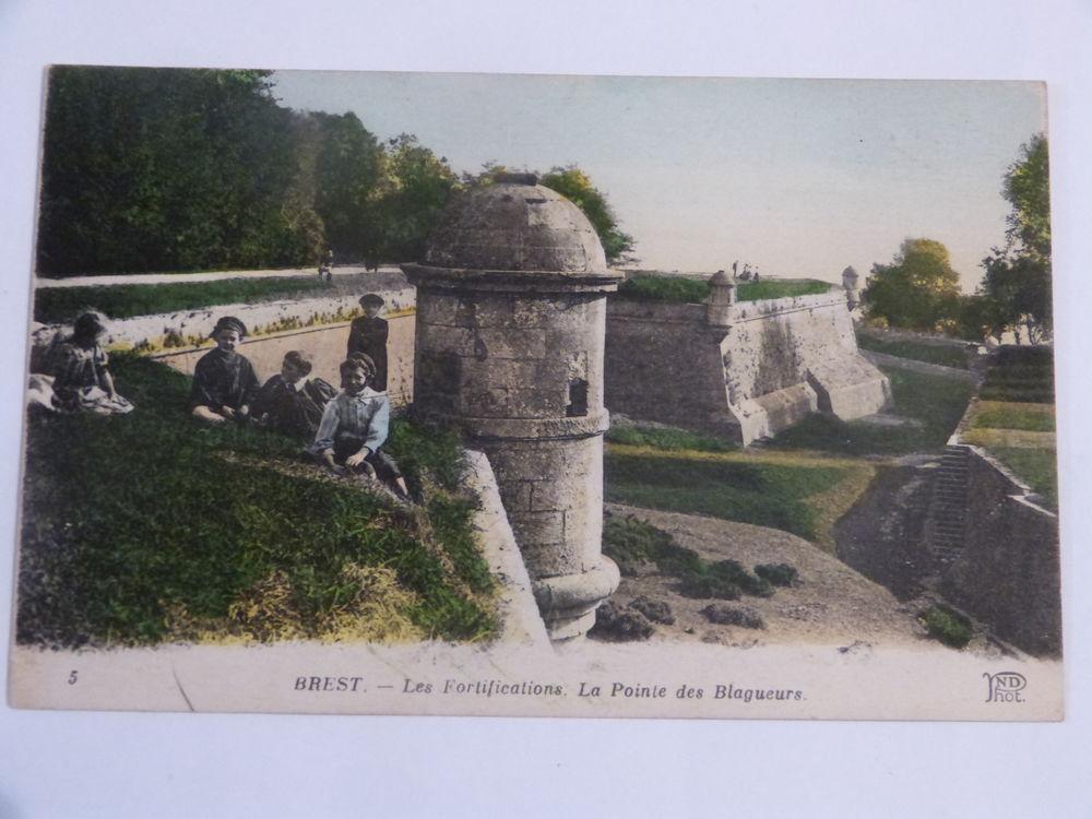 BREST - LES FORTIFICATIONS  -  LA POINTE DES BLAGUEURS 6 Brest (29)