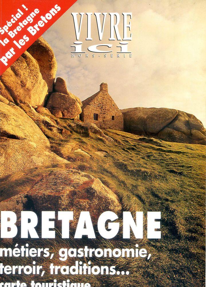 BRETAGNE , métiers, gastronomie, terroir; traditions, carte  5 Rennes (35)