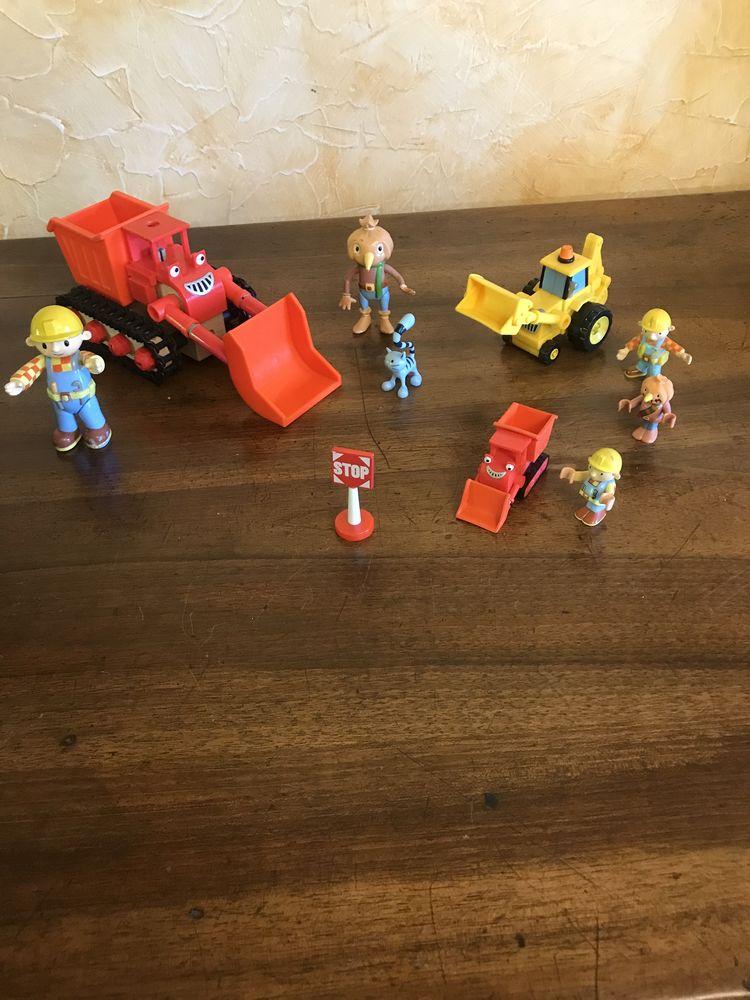 Bob le bricoleur et ses amis et tractopelles 20 Charnay (69)