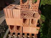 briques en terre cuite isolante 40 Berck (62)