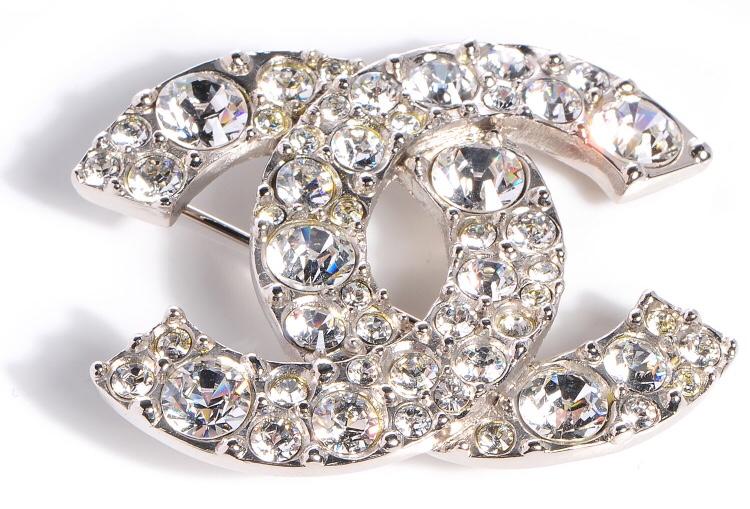 Broche Chanel de Collection (Éléments Swarovski) 445 Athis-Mons (91)