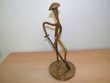 Bronze yves lohe le jardinier Lamalou-les-Bains (34)