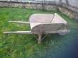 brouette en bois Décoration