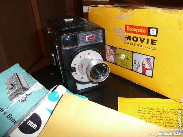 Brownie 8 mm ciné-caméra f/1,9 année 1955 30 Bordeaux (33)