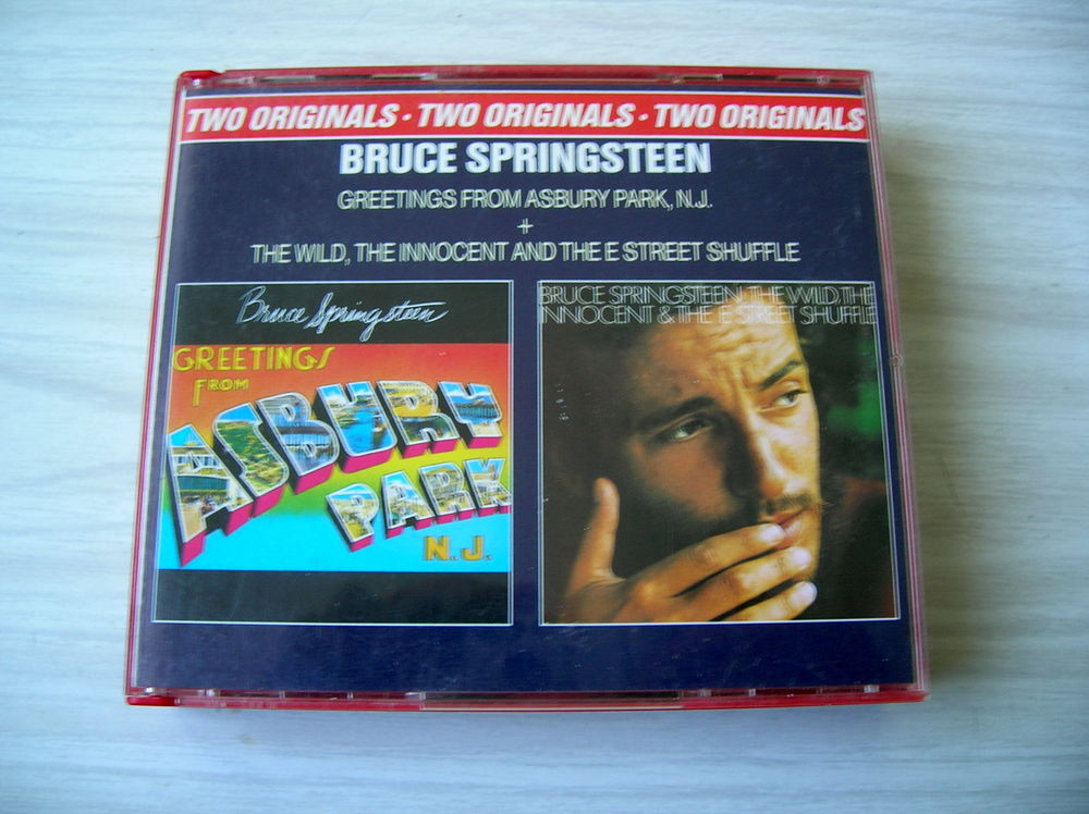 CD BRUCE SPRINGSTEEN Greetings + The wild - 2 CD 14 Nantes (44)