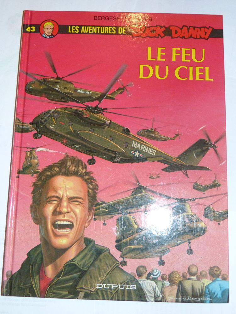 BD  -  BUCK DANNY 43 LE FEU DU CIEL dédicacé  F. BERGESE 40 Brest (29)