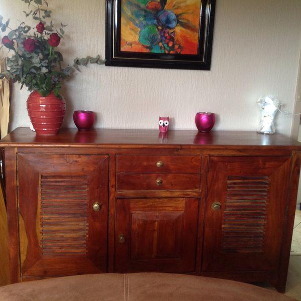 achetez buffet bois exotique occasion annonce vente. Black Bedroom Furniture Sets. Home Design Ideas