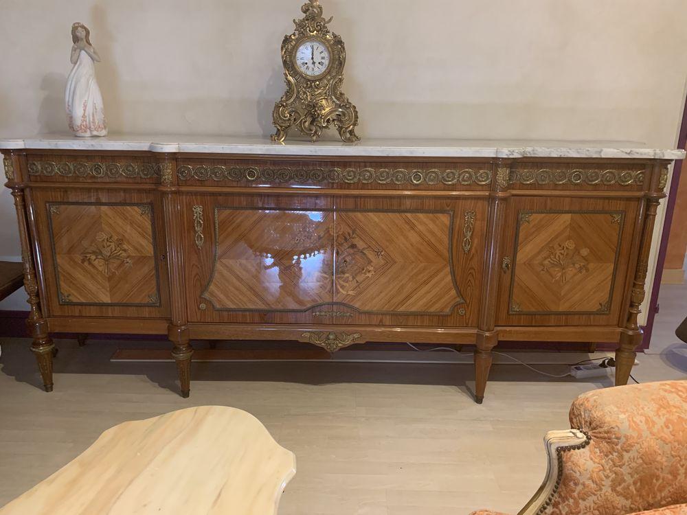 Buffet bois de rose style Louis XVI  dessus en marbre blanc 0 Les Ulis (91)
