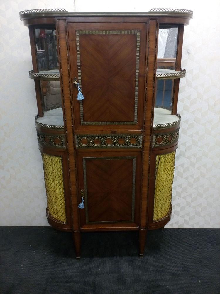 Buffet desserte grillagé style Louis XVI marqueté 590 Toulouse (31)
