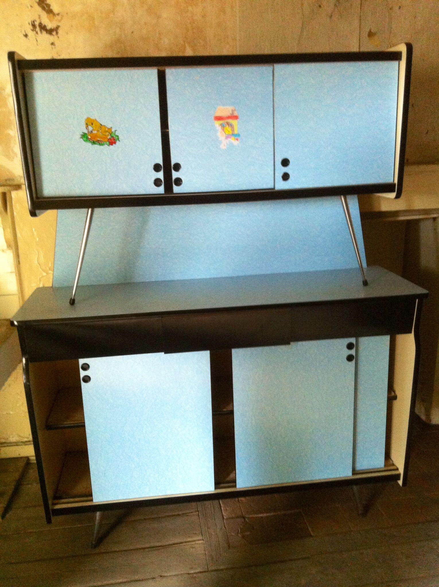 buffet formica anne 50 meubles