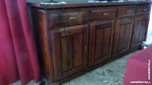 Buffet bas massif  style colonial 400 Fontvieille (13)