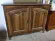 Buffet 2 portes style Louis XV en noyer Meubles