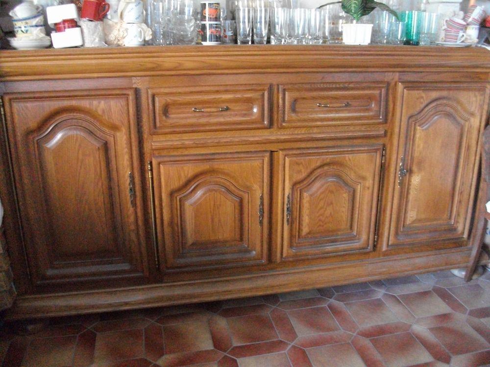 Buffet 4 portes + tiroirs en chêne massif Meubles