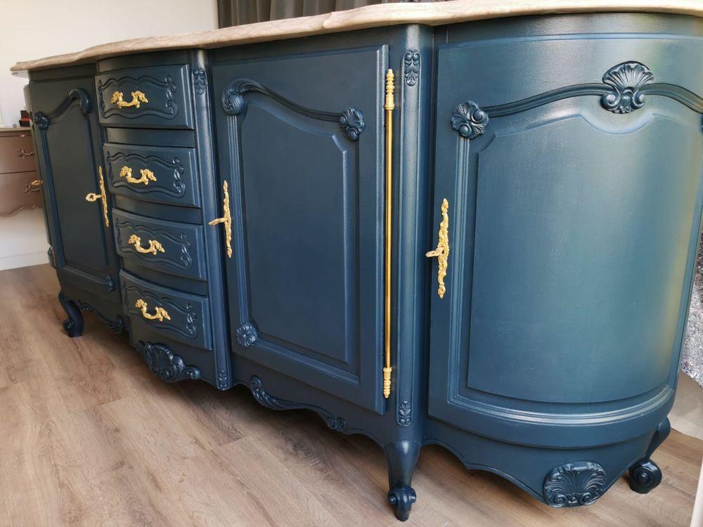 Buffet de Style Louis XV Bleu 0 Carrières-sous-Poissy (78)