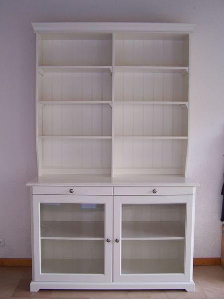 Achetez buffet vaisselier occasion annonce vente verdun 55 wb151036435 - Meuble vaisselier blanc ...