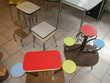 buffets tables chaises et tabourets en formica vintage Meubles