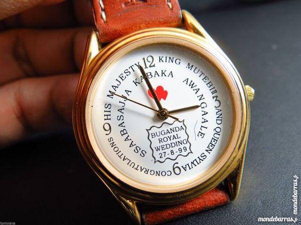 BUGANDA ROYAL WEDDING montre analogique DIV0457 65 Metz (57)