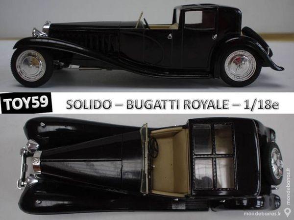 BUGATTI ROYALE type 41 - SOLIDO 1/18e 35 Mons-en-Barœul (59)