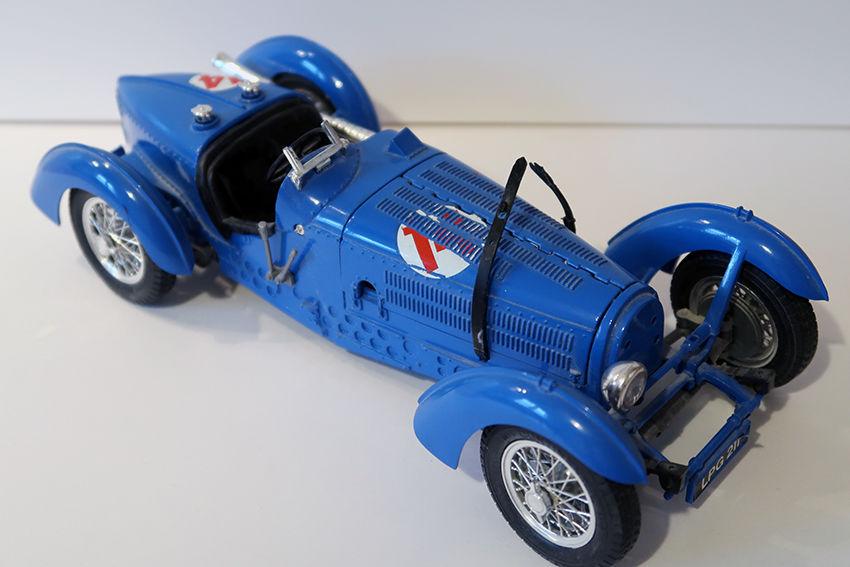 Bugatti type   59   1934 BUGARO 1/18 10 Bondoufle (91)