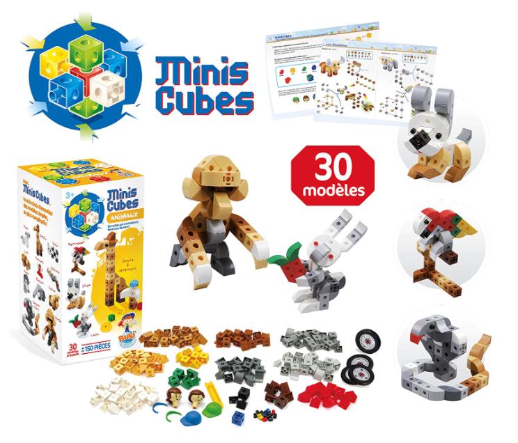 Buki Jeu de Construction Mini Cubes Animaux et véhicules 25 Noisy-le-Sec (93)