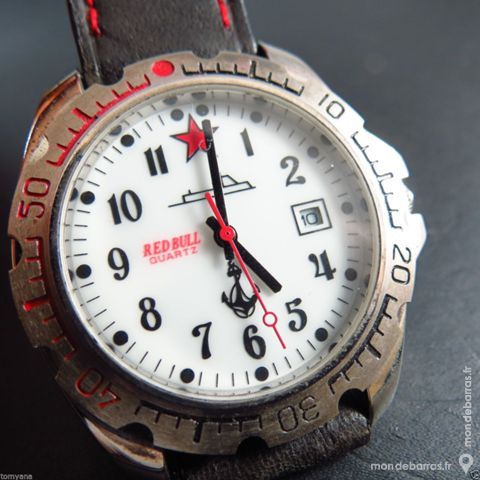 RED BULL RUSSIAN LOOK montre analogique RUS0062 80 Metz (57)