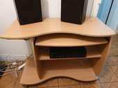 Bureau en bois avec enceintes  0 Bois-Colombes (92)