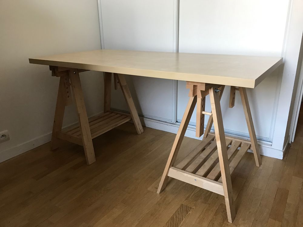 bureau bois ikea finest bureau bois ikea table ronde verre bois unique assez ikea plateau. Black Bedroom Furniture Sets. Home Design Ideas