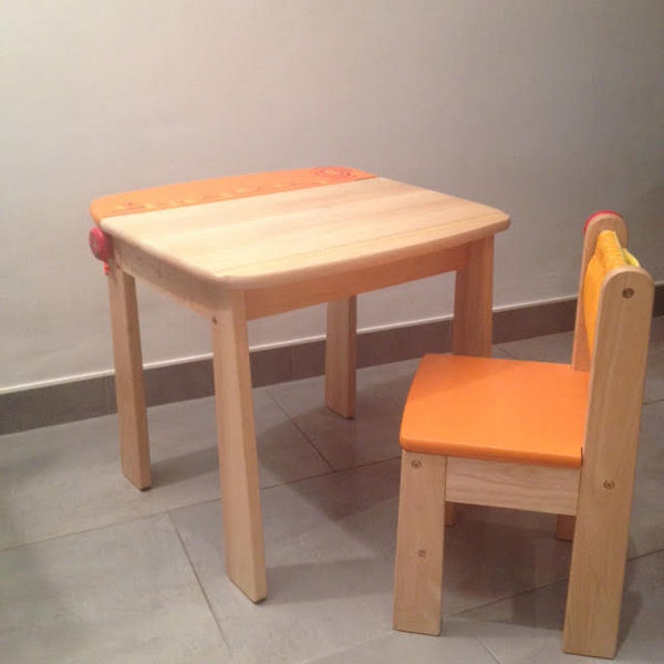 Bureau + chaise en bois 60 Saint-Germain-en-Laye (78)
