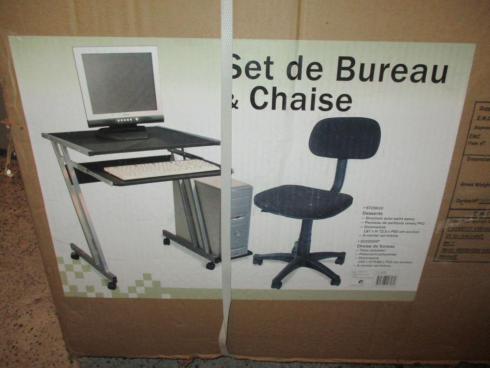 Bureau et chaise informatique 50 Colomiers (31)