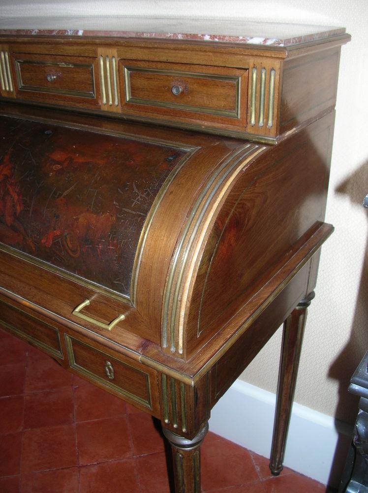Bureau à cylindre ancien de style Louis XVI 390 Cazouls-lès-Béziers (34)