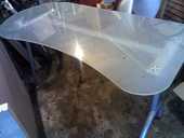 bureau dessus verre opaque 15 Montsoult (95)