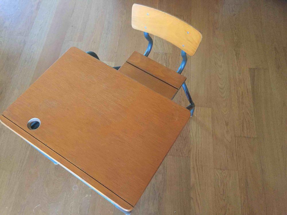 bureau ecolier enfant vintage. 40 Neyron (01)