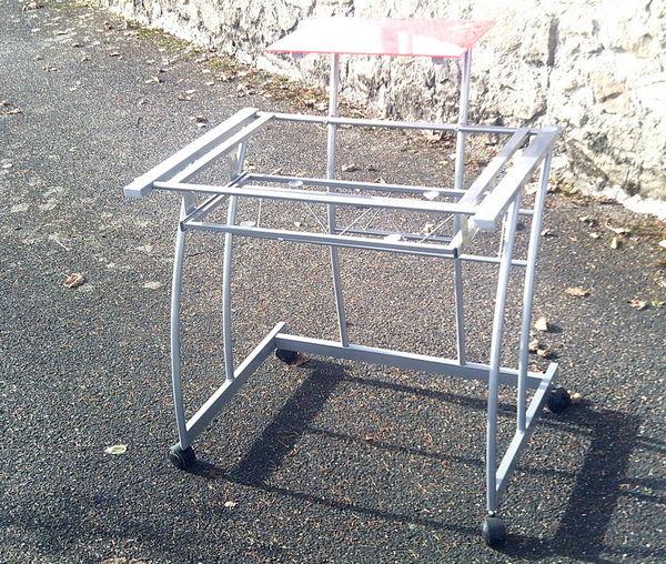 Bureau informatique en métal gris 10 Aubin (12)