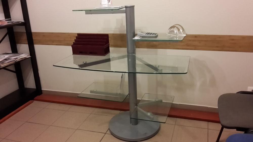 bureau informatique verre trempé-métal et chaise 50 Creil (60)