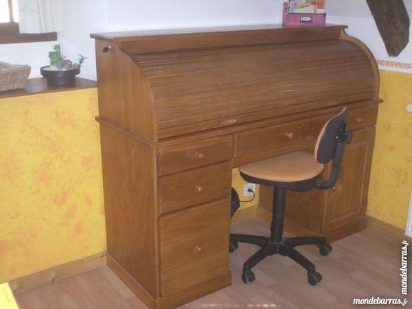 Achetez bureau en pin massif occasion annonce vente for Bureau en pin