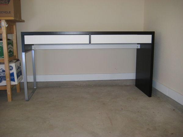 achetez bureau micke ikea occasion annonce vente montpellier 34 wb150823896. Black Bedroom Furniture Sets. Home Design Ideas