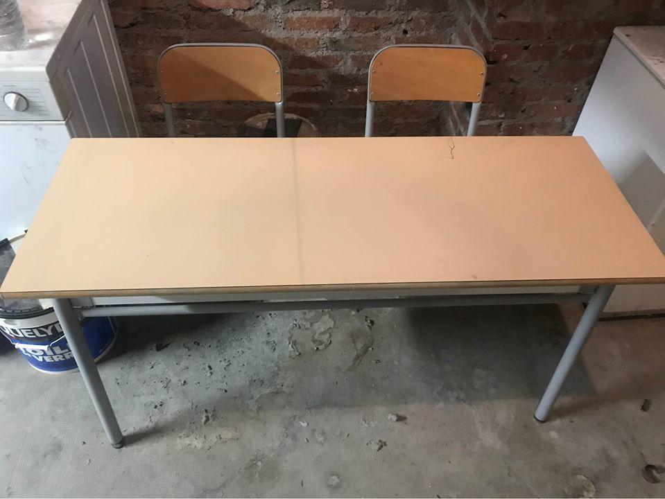 Bureau table écolier double vintage 100 Rueil-Malmaison (92)