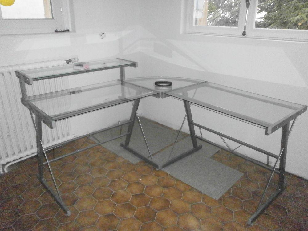 bureau verre et métal type informatique 50 Sorbiers (42)