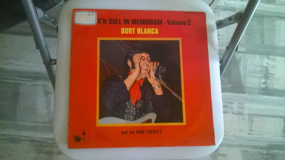 33T Burt Blanca and the King Creole's