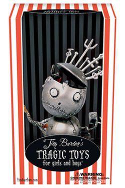 Tim Burton´s Tragic Toys figurine Vinyl Robot Boy 40 Bobigny (93)