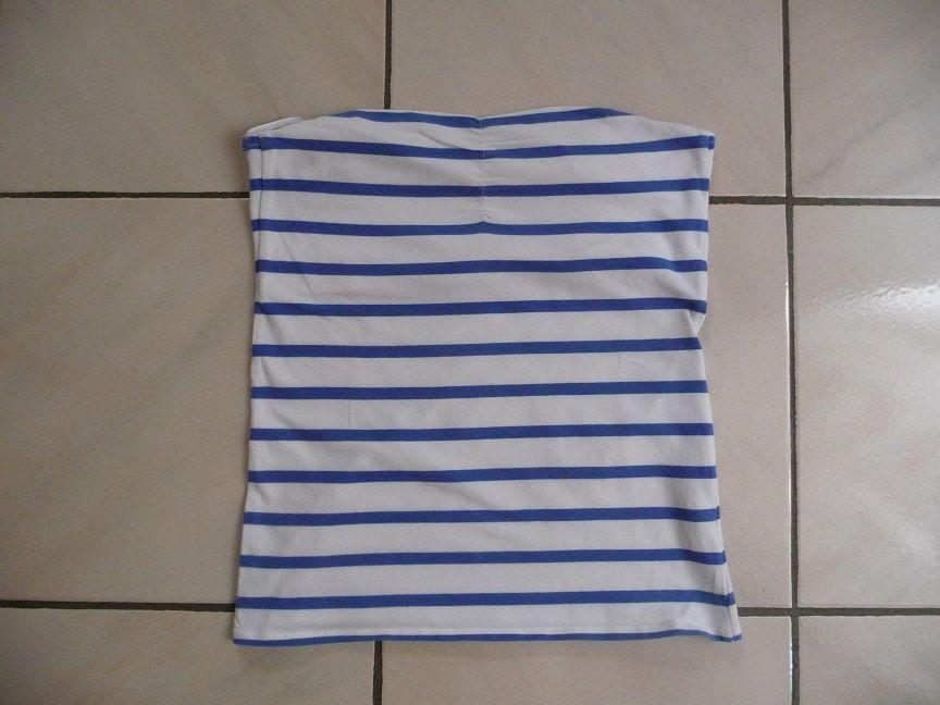 Bustier blanc rayé bleu PIMCKIE - NEUF 8 Montigny-le-Bretonneux (78)