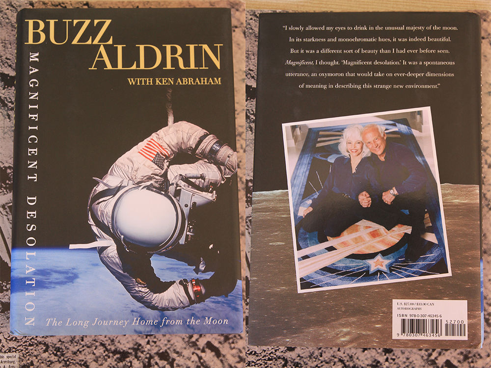 BUZZ ALDRIN - APOLLO 11 -  Magnificent desolation  300 Hyères (83)