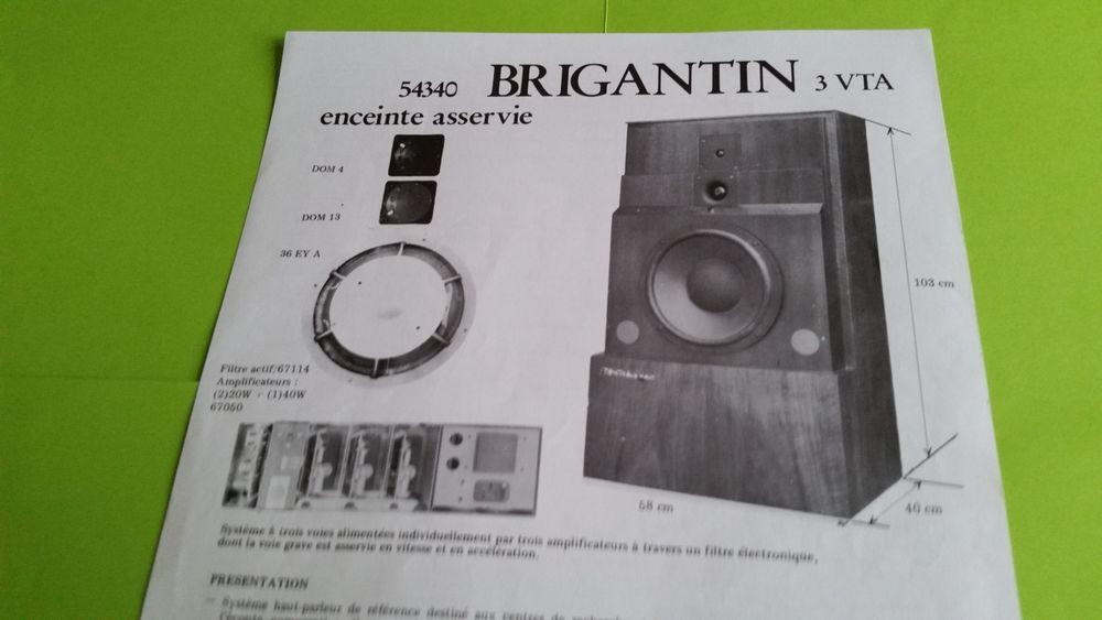 CABASSE BRIGANTIN 3 VTA Audio et hifi
