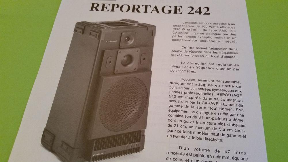 CABASSE REPORTAGE 242 Audio et hifi