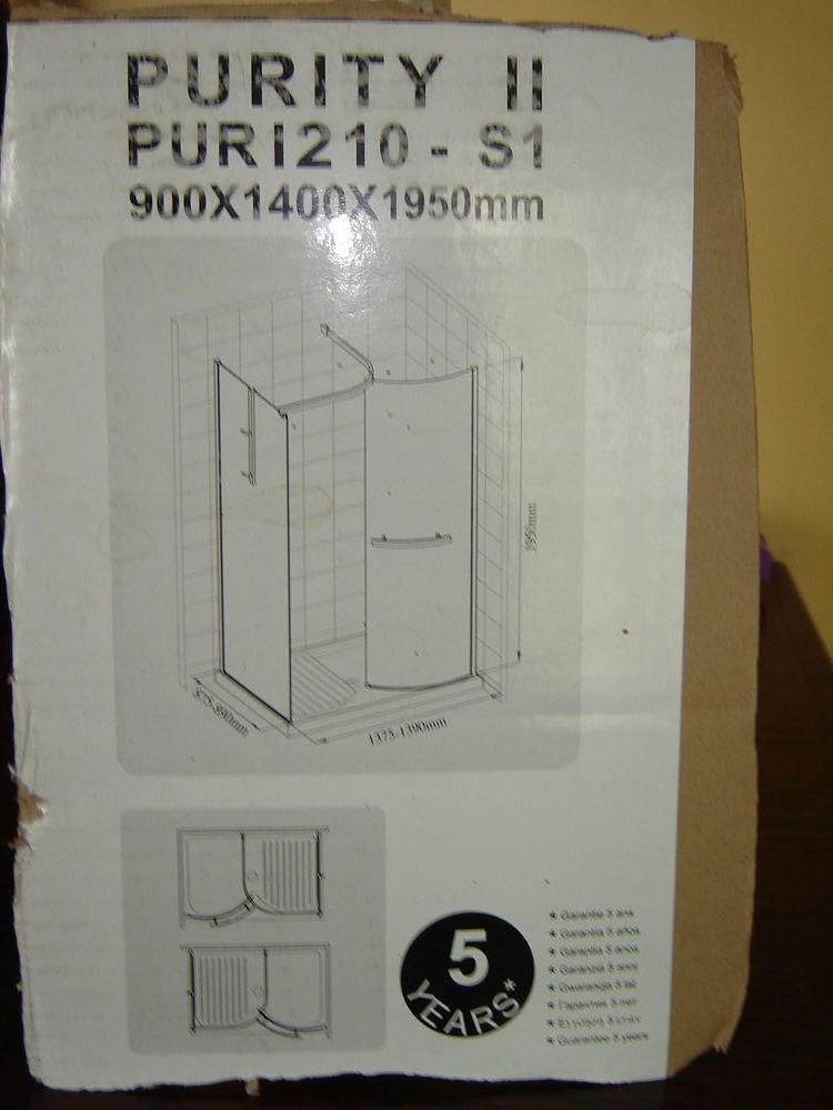 cabine de douche avec retour 180 Fargniers (02)